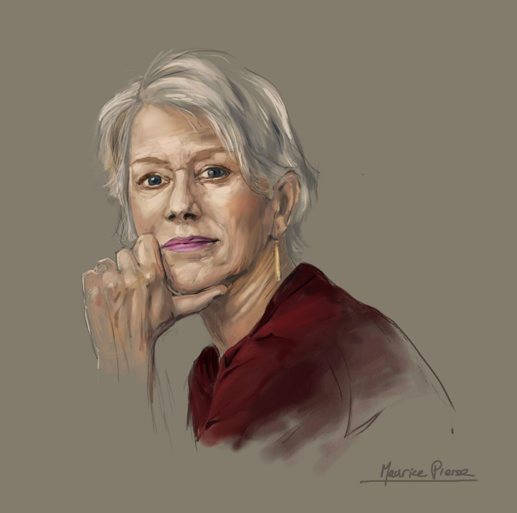 Hellen-Mirren-Digital-Painting